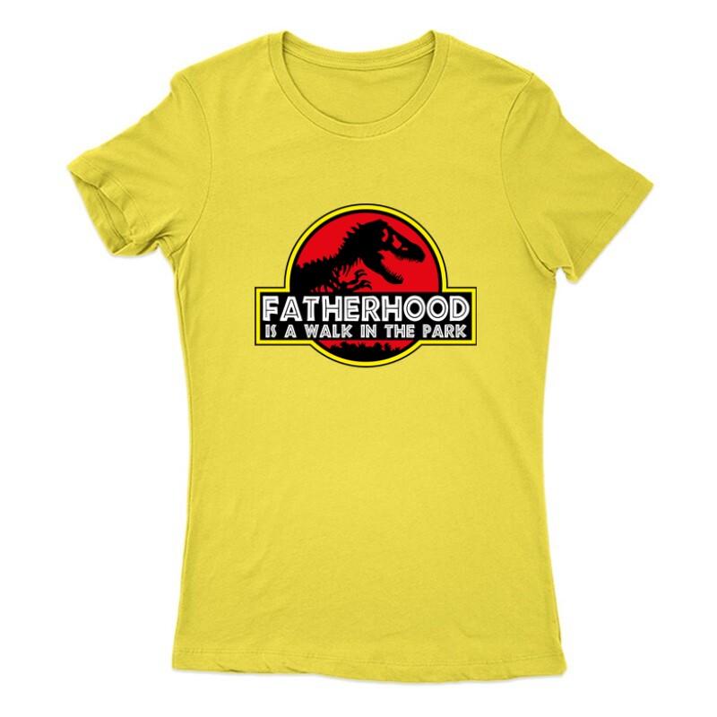 Fatherhood (Jurassic) Női Póló