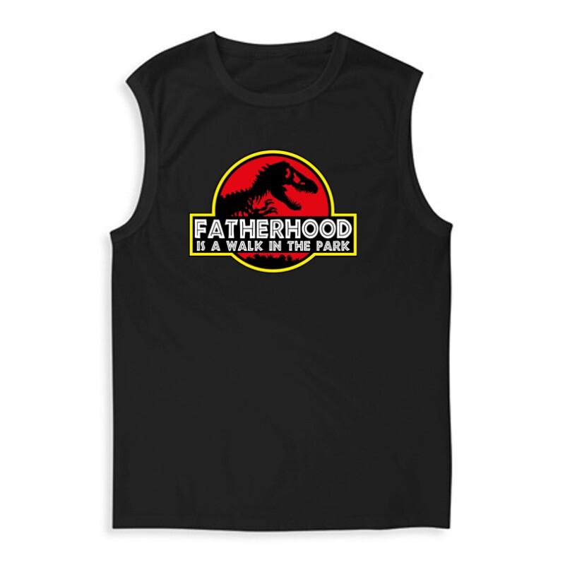 Fatherhood (Jurassic) Férfi Trikó