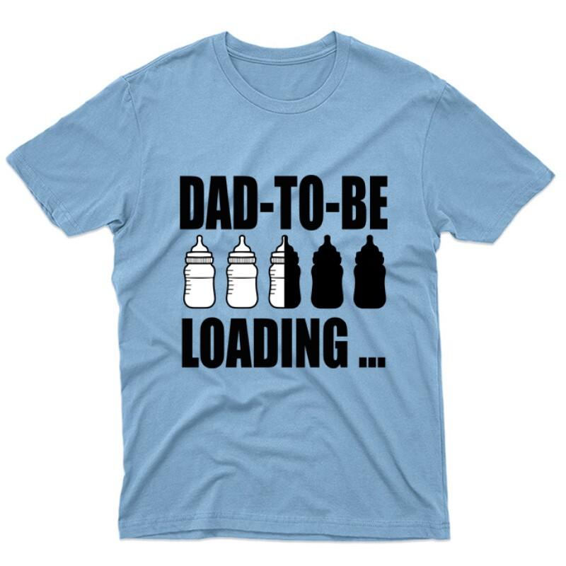 Dad to Be Loading... Unisex Póló