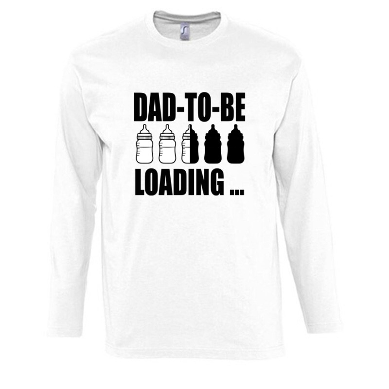 Dad to Be Loading... Hosszú Ujjú Póló