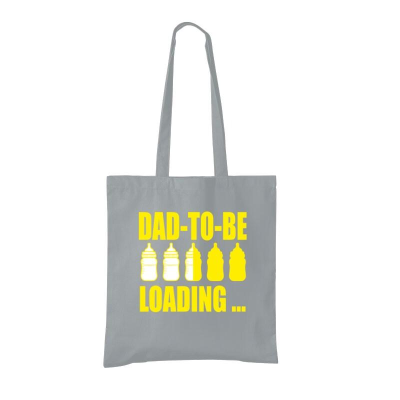 Dad to Be Loading... Bevásárló Táska