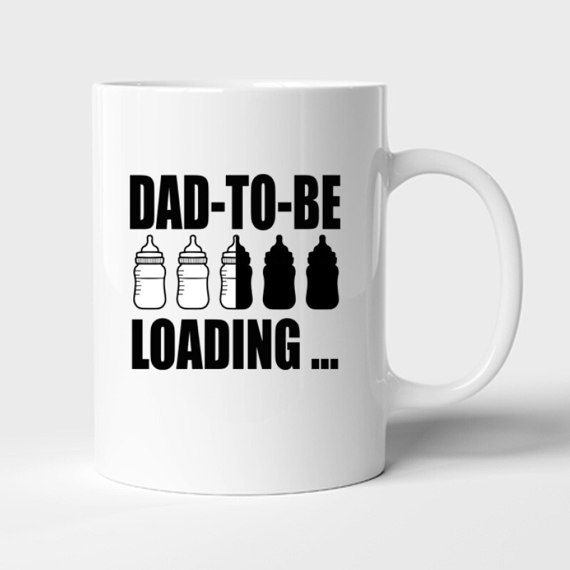 Dad to Be Loading... Bögre