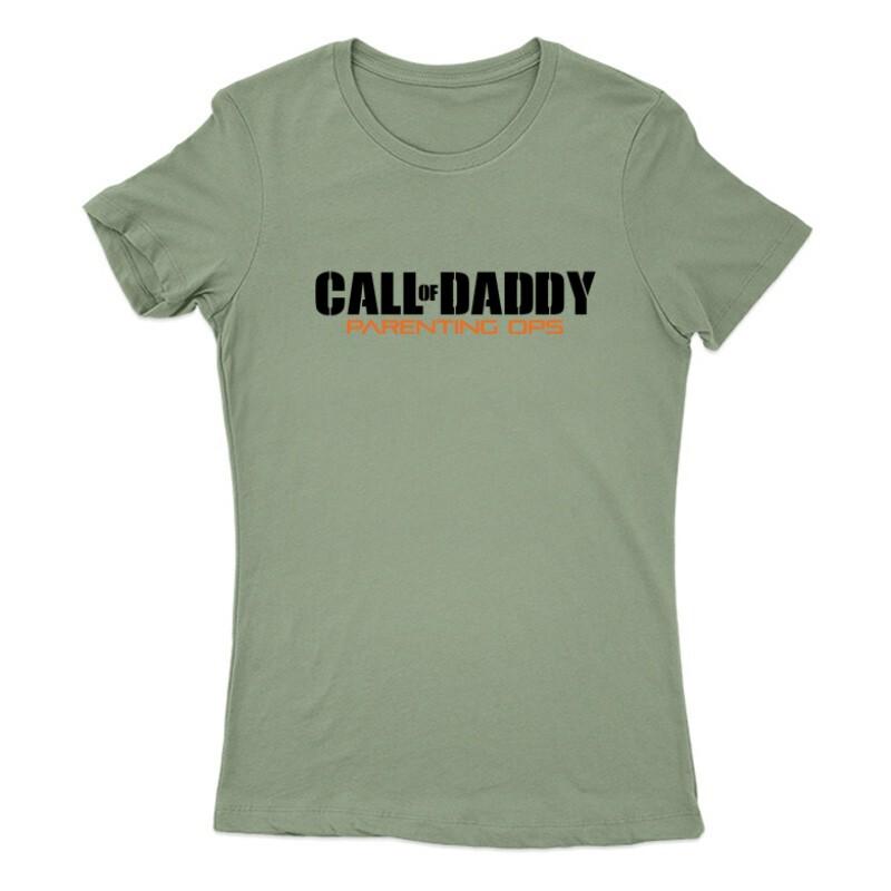 Call of Daddy Női Póló