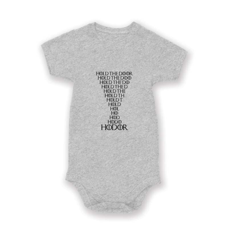 Hodor Text Baby Body