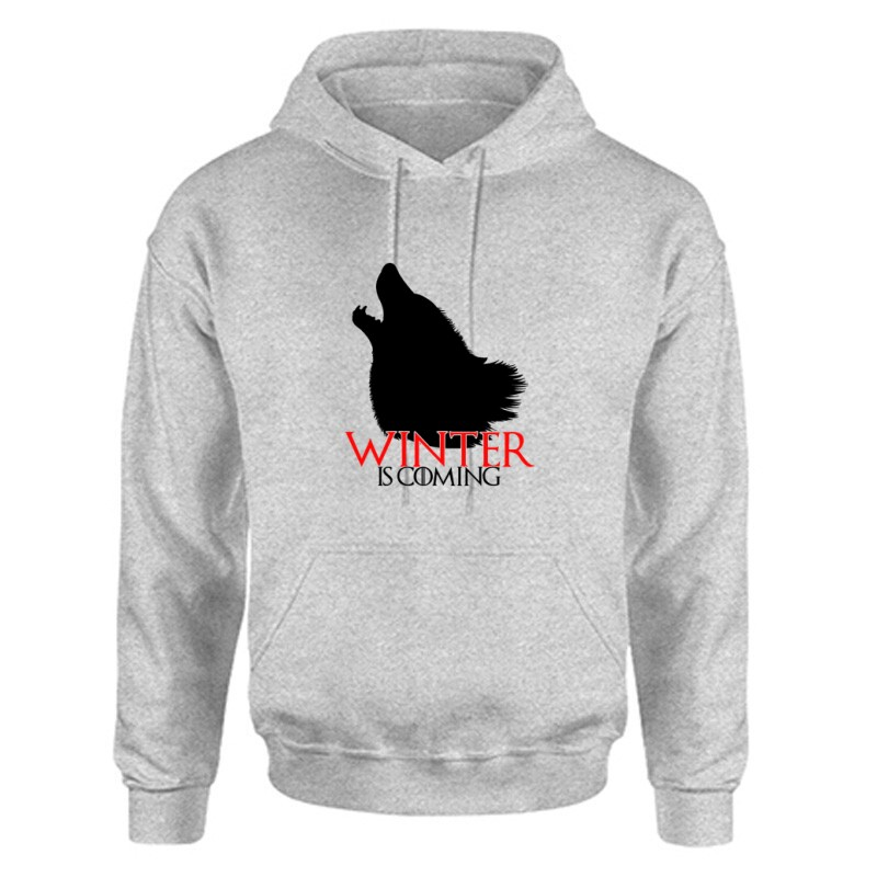 GOT Winter is coming Unisex Kapucnis Pulcsi