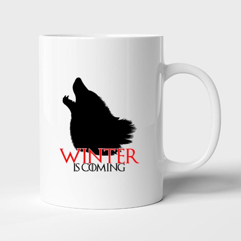 GOT Winter is coming Bögre