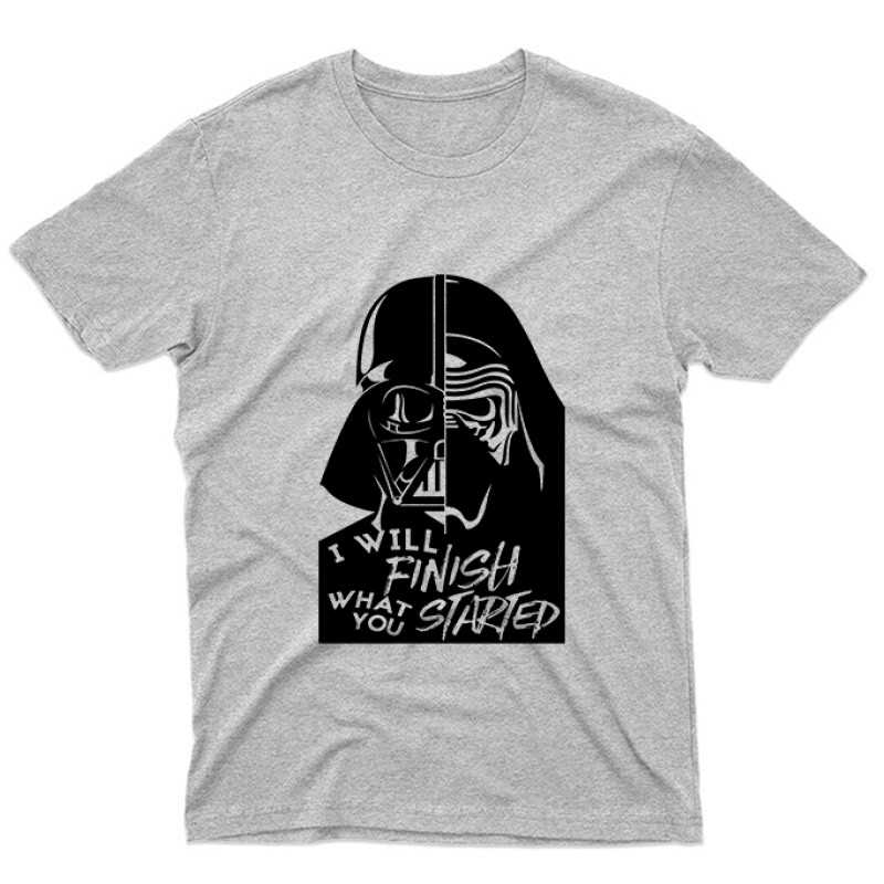 I will finish what you started Unisex Póló
