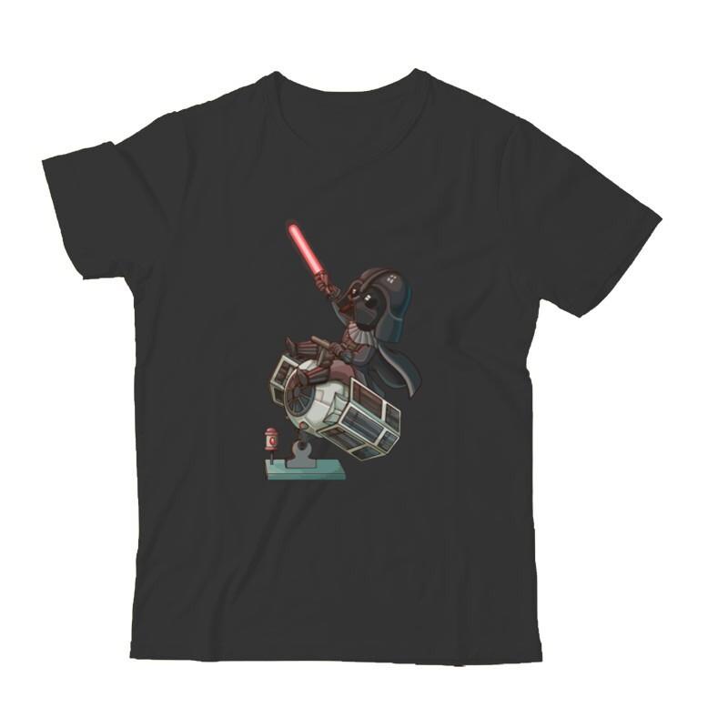 Vader & Tie fighter Gyermek Póló