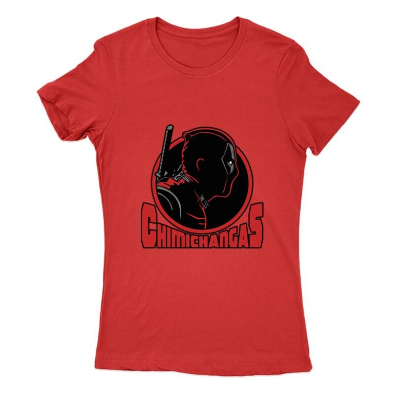 Deadpool chimichangas Női Póló