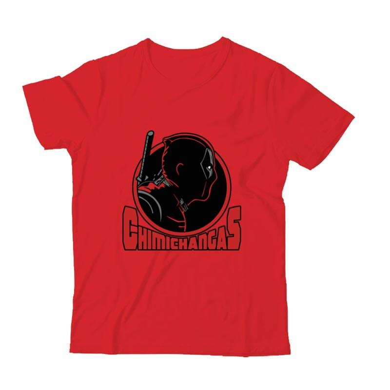 Deadpool chimichangas Gyermek Póló
