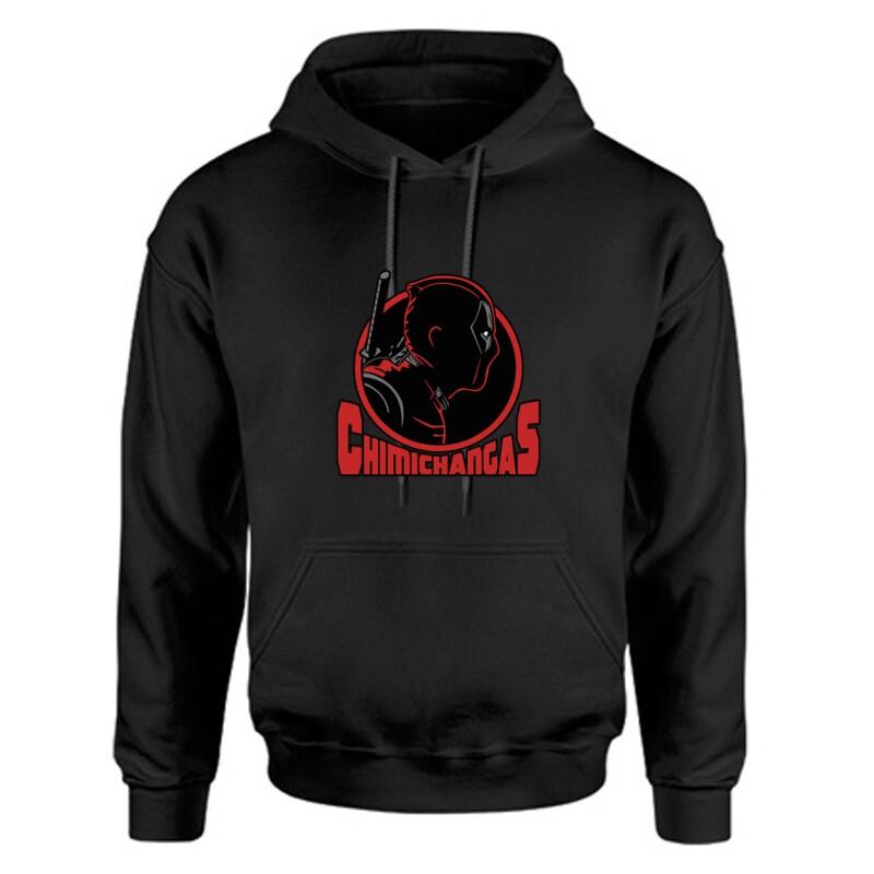 Deadpool chimichangas Unisex Kapucnis Pulcsi