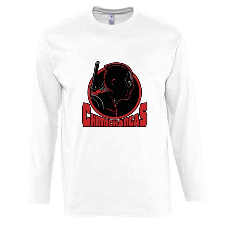 Deadpool chimichangas Hosszú Ujjú Póló