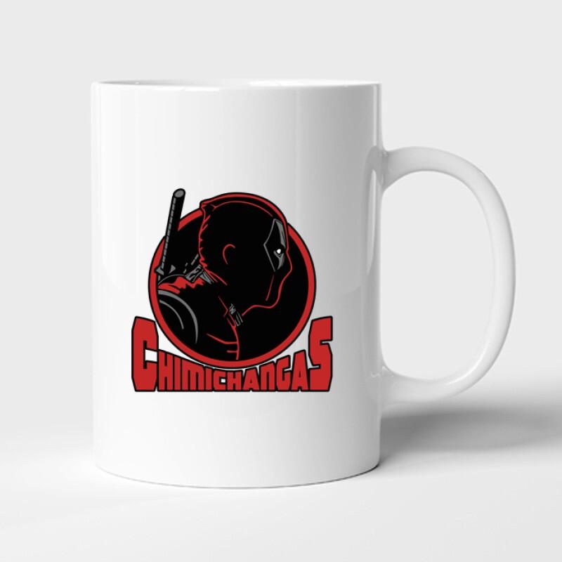 Deadpool chimichangas Bögre