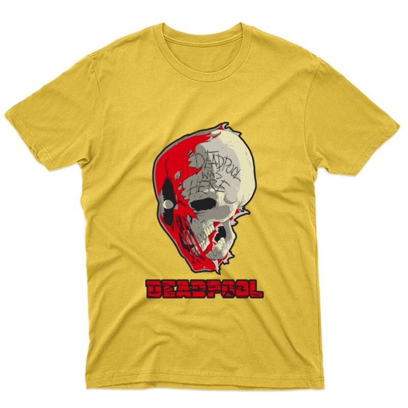 Deadpool Skull Unisex Póló