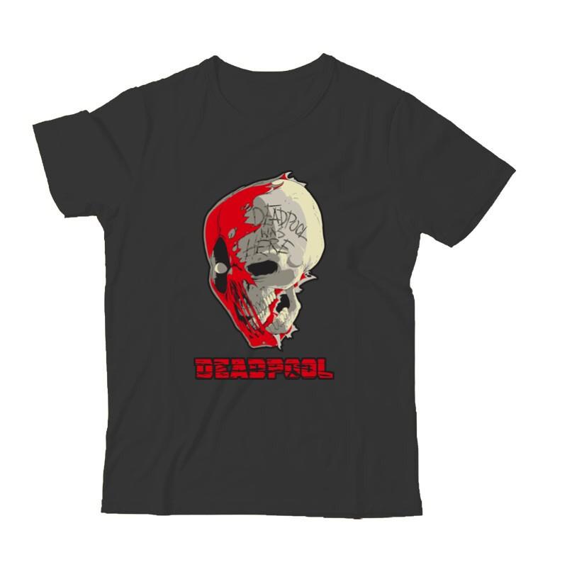 Deadpool Skull Gyermek Póló