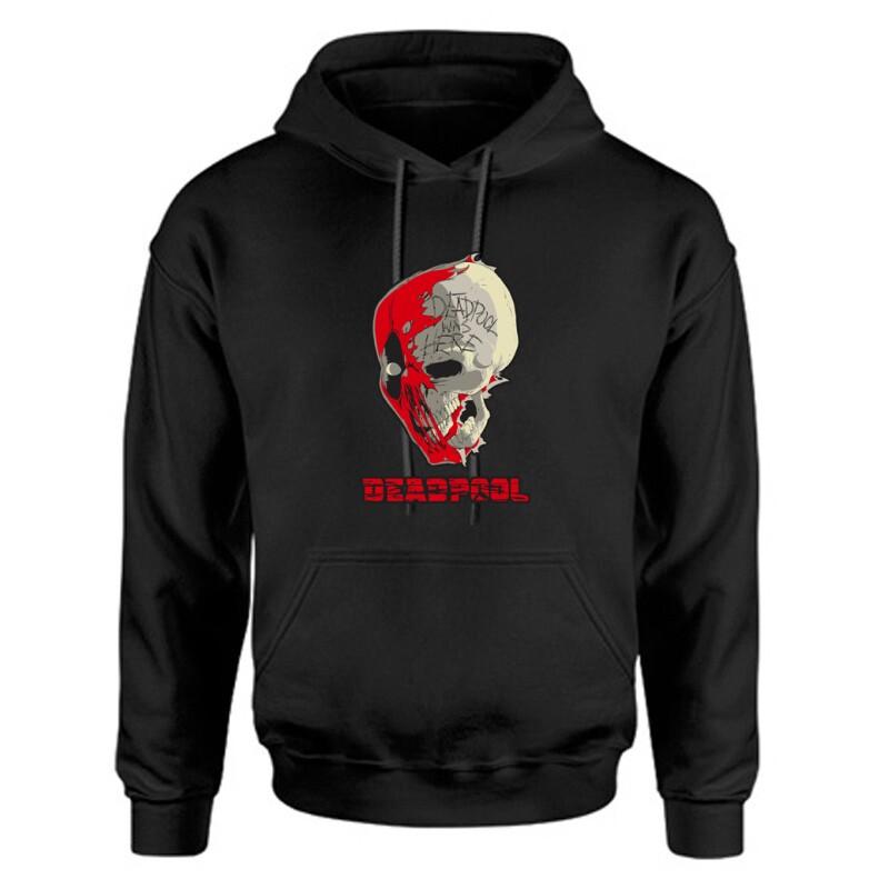 Deadpool Skull Unisex Kapucnis Pulcsi