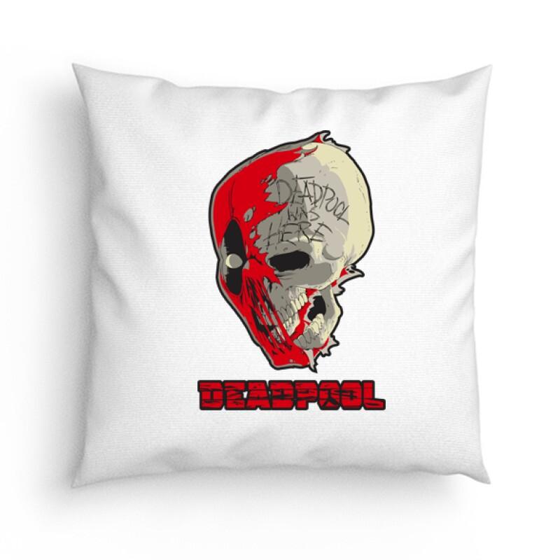 Deadpool Skull Párna