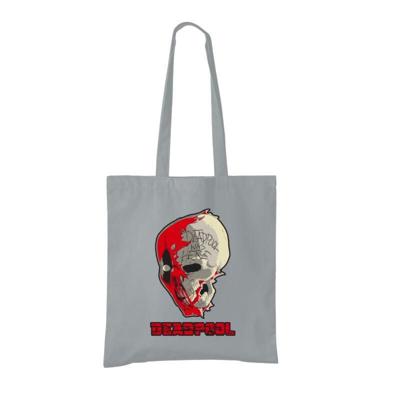 Deadpool Skull Bevásárló Táska