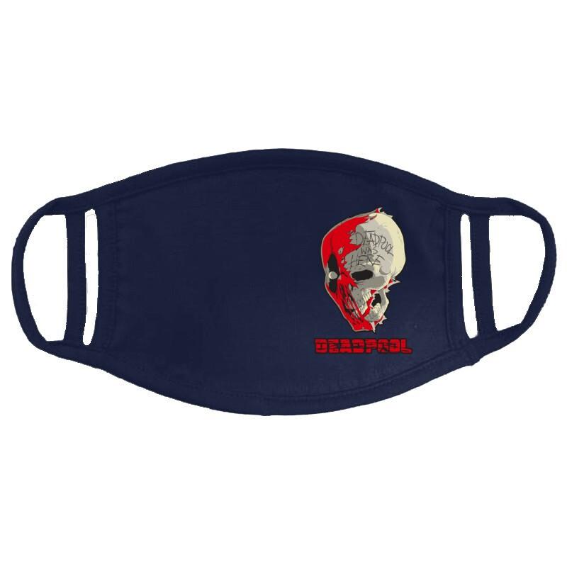 Deadpool Skull Arcmaszk