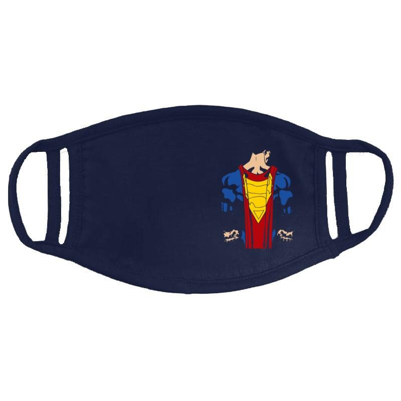Superman back Arcmaszk