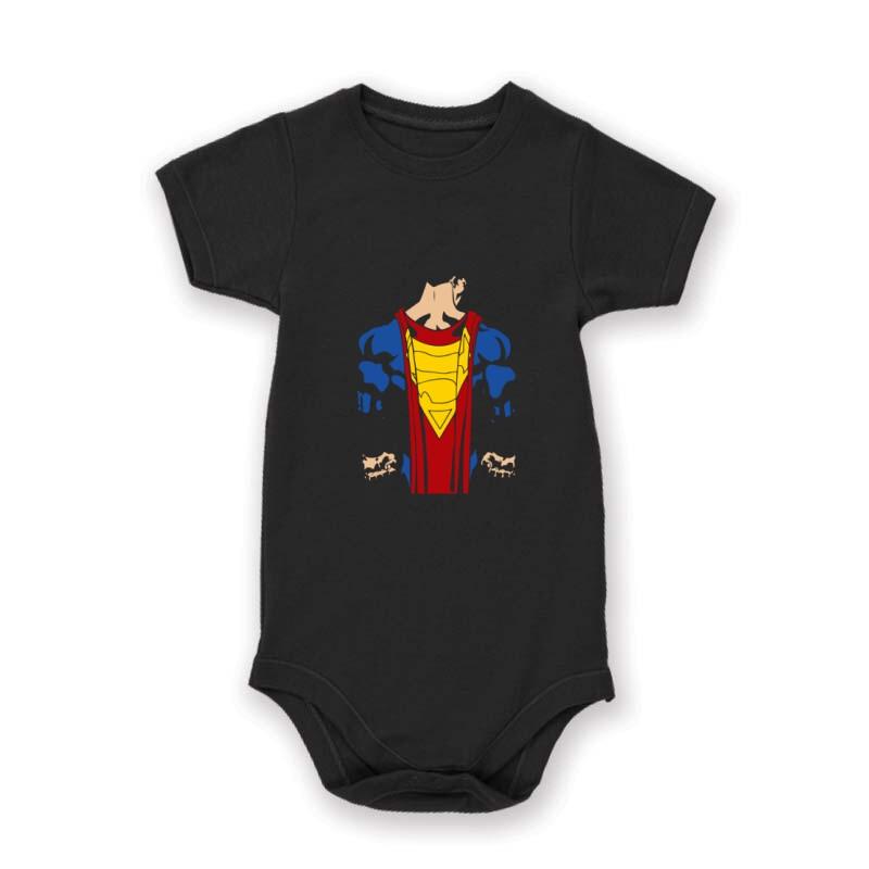Superman back Baby Body