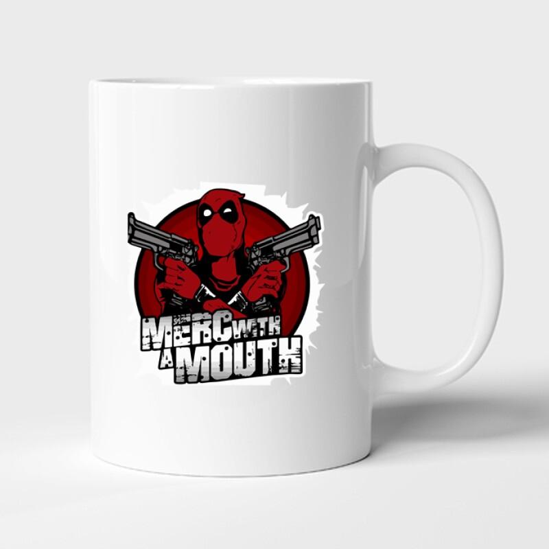 Merc with a mouth Bögre