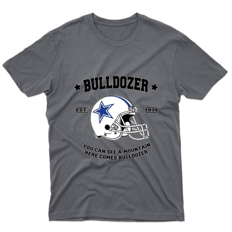 Here comes Bulldozer Unisex Póló