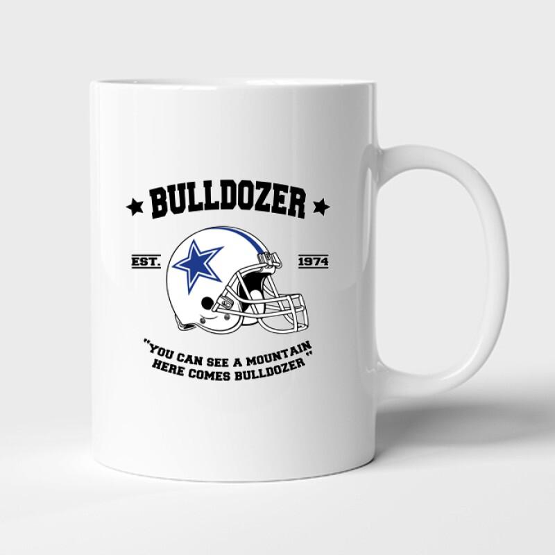 Here comes Bulldozer Bögre