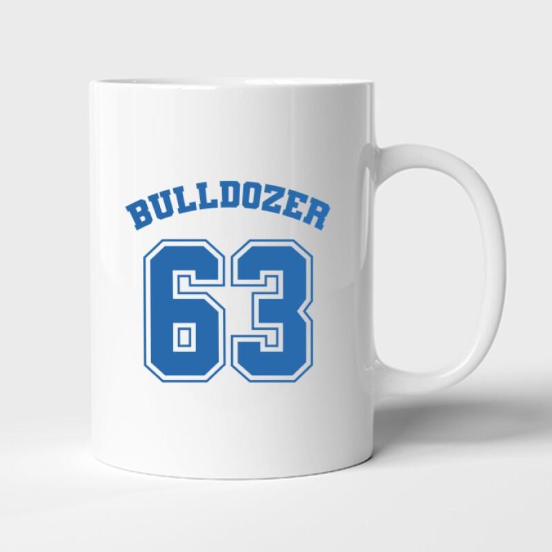 Bulldozer Bögre