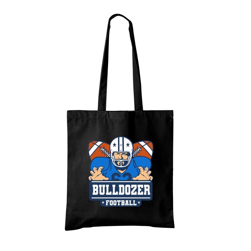 Bulldozer Football Bevásárló Táska