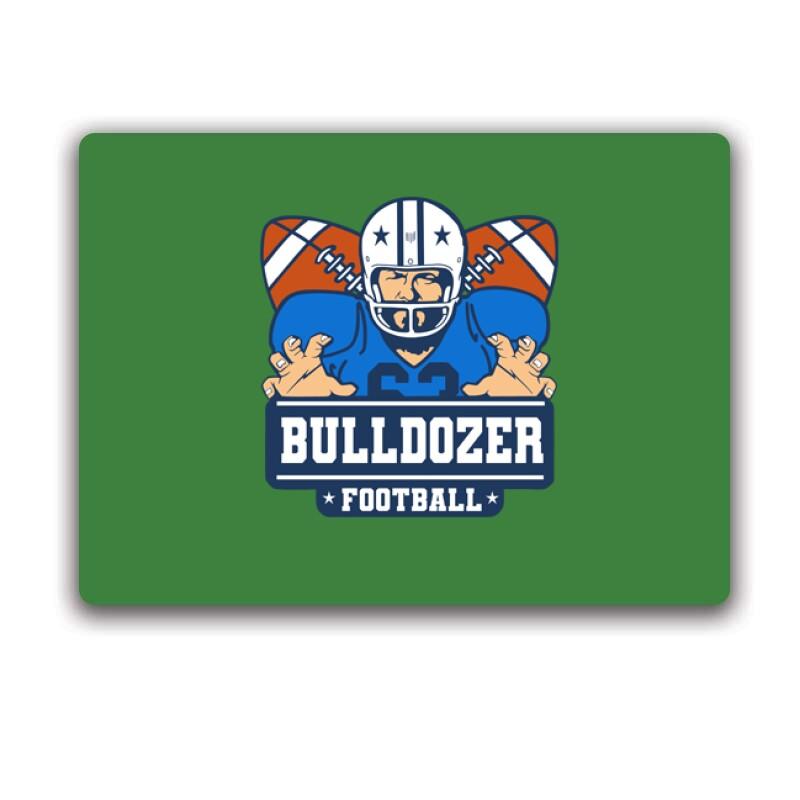 Bulldozer Football Egérpad
