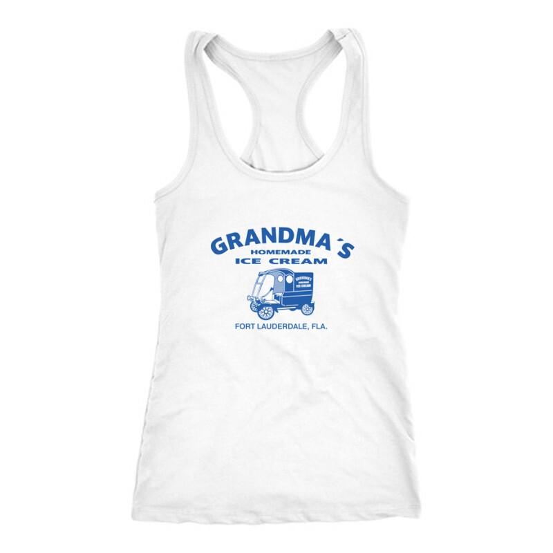 Grandma's homade ice cream Női Trikó