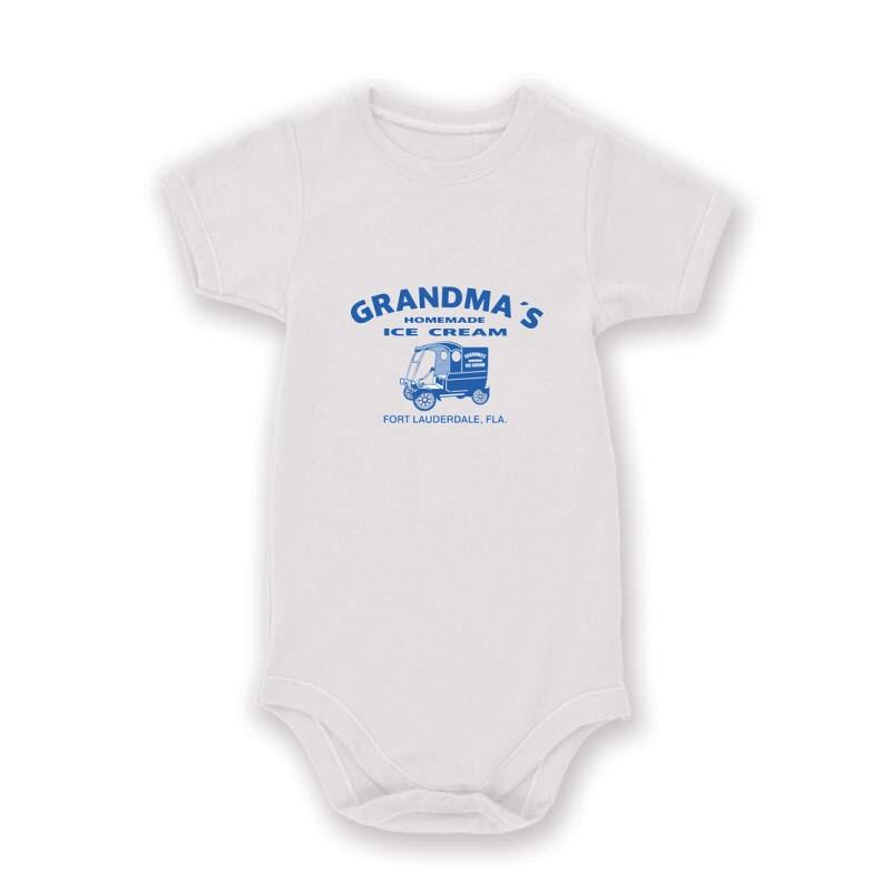 Grandma's homade ice cream Baby Body