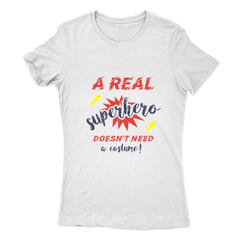 Real Superhero Női Póló