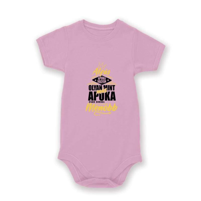 Alfás Apuka Baby Body