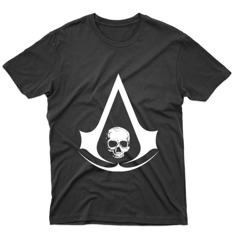 Assassins Creed 4 Black Flag Unisex Póló