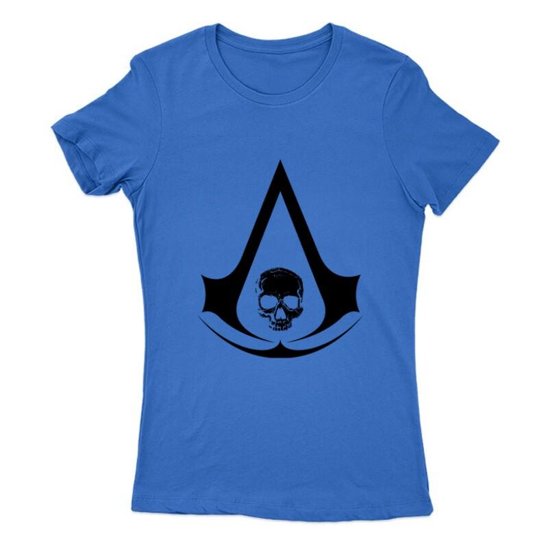 Assassins Creed 4 Black Flag Női Póló