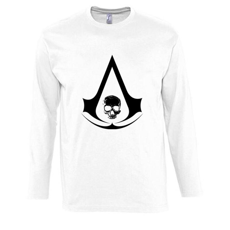 Assassins Creed 4 Black Flag Hosszú Ujjú Póló