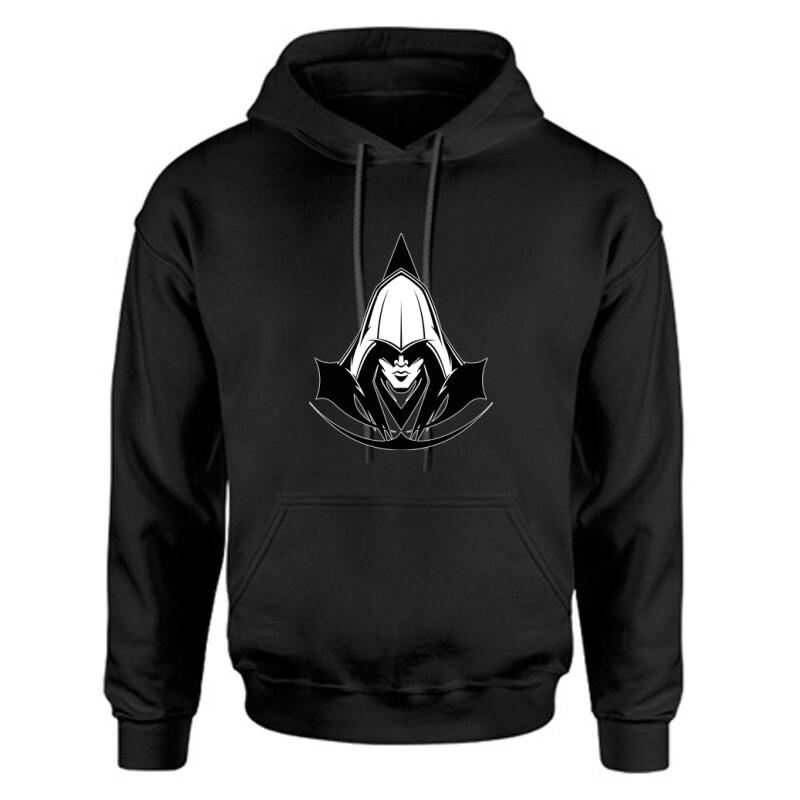 Assassins Creed Face Unisex Kapucnis Pulcsi
