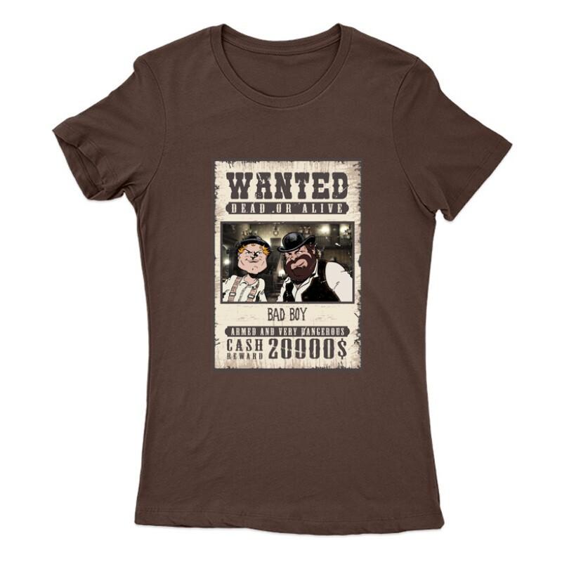 Bad Boy Wanted Női Póló