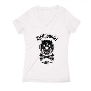 Helldog Női V Kivágott póló