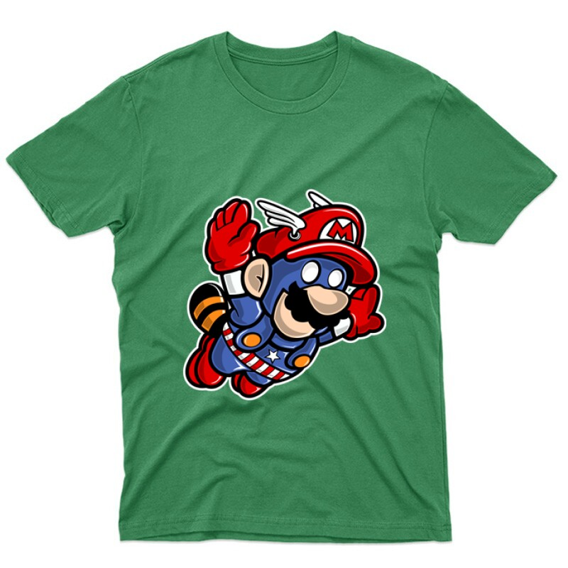 Captain Mario Unisex Póló