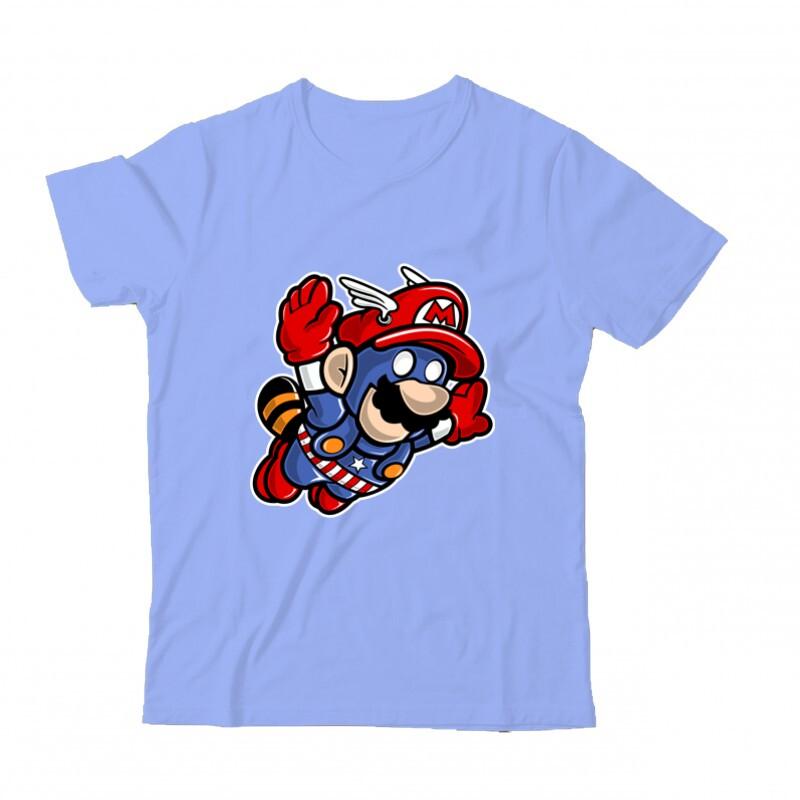 Captain Mario Gyermek Póló