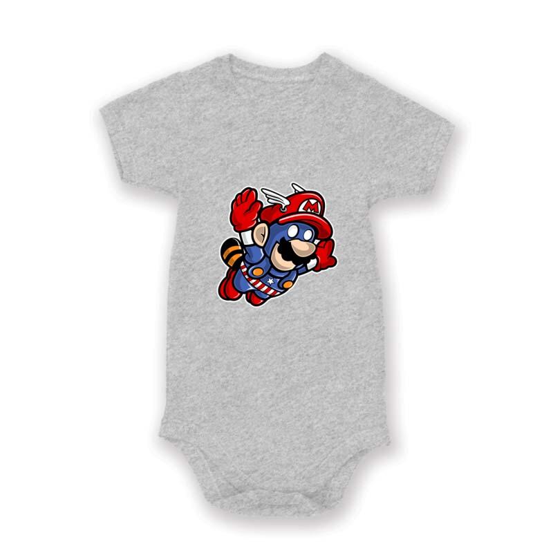 Captain Mario Baby Body
