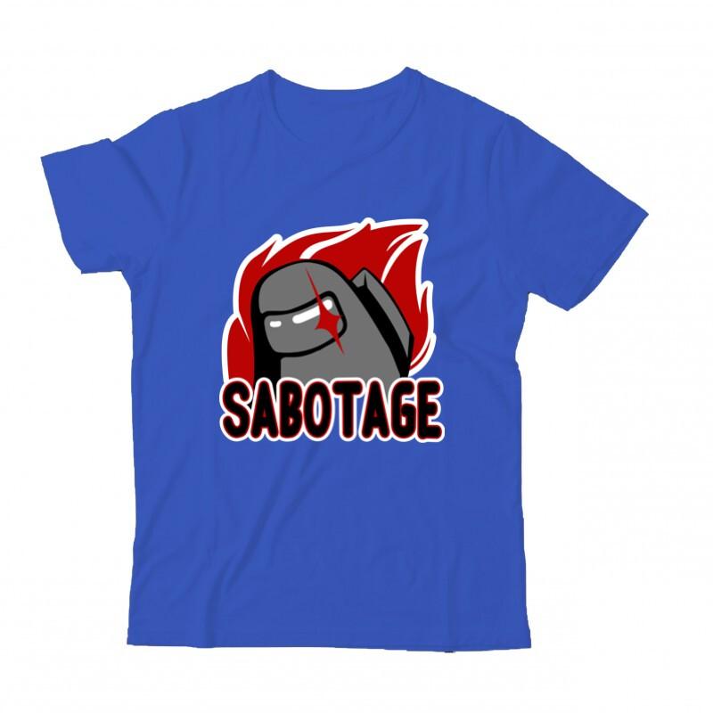 Sabotage Among Gyermek Póló