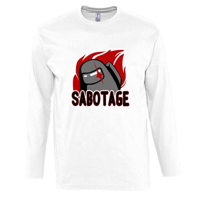 Sabotage Among Hosszú Ujjú Póló