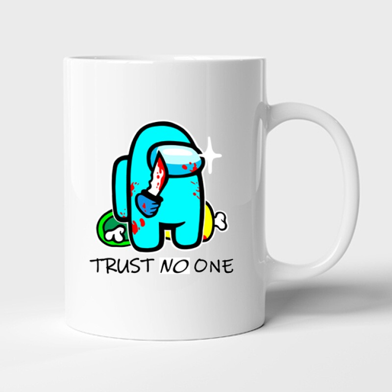 Trust no one Bögre