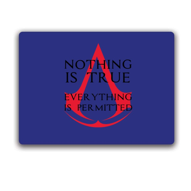 Nothing Is true Everything is permitted Logo Egérpad