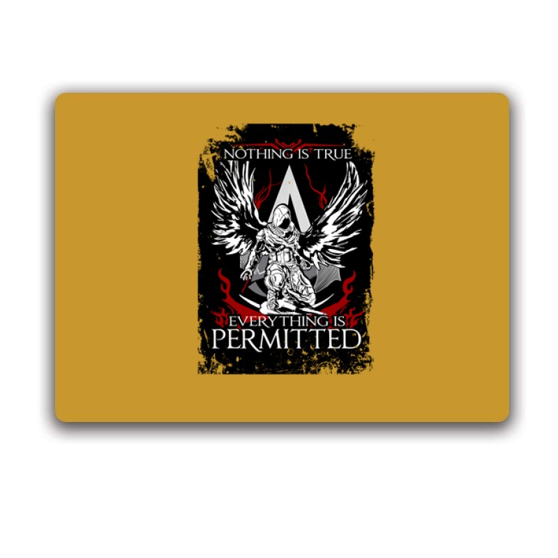 Nothing Is true Everything is permitted AC Egérpad