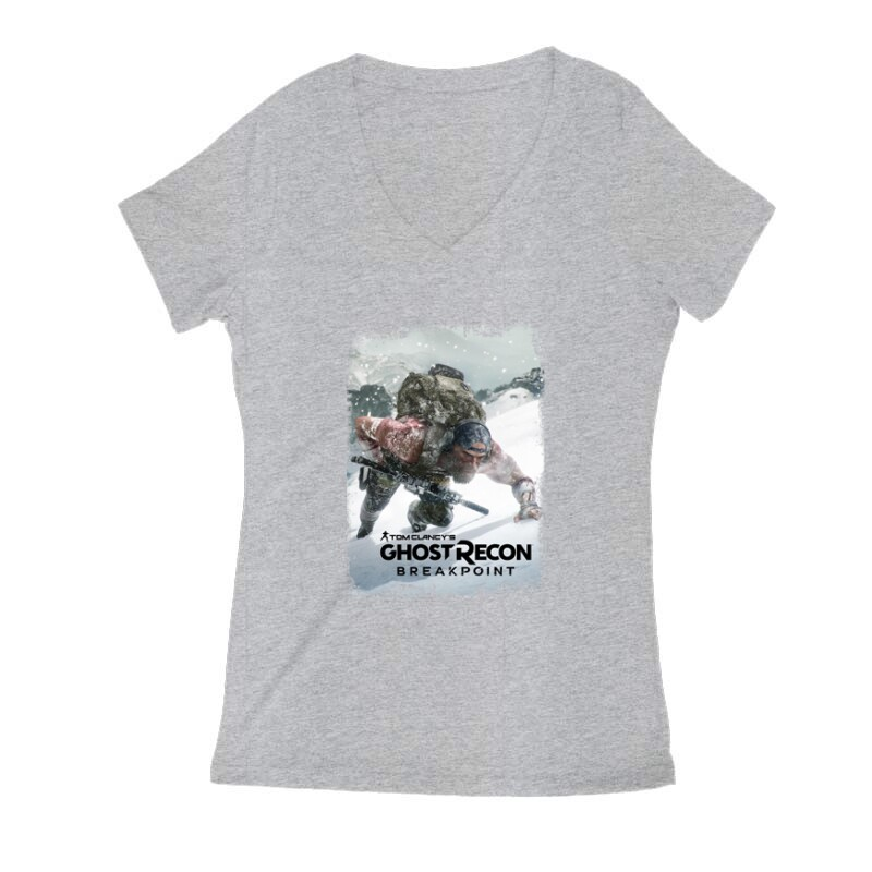 Tom Clancy's Breakpoint snow Női V Kivágott póló